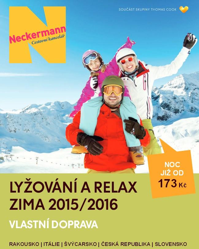 katalog ck neckermann lyže 2015/2016